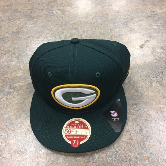 e92943d8 New Era Accessories | Green Bay Packers Heritage Series Fit Hat ...
